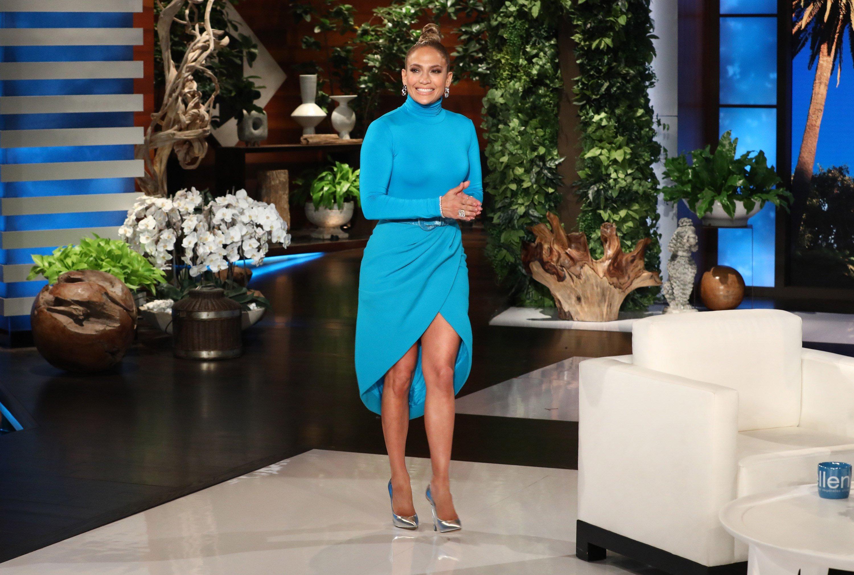 "The multi-talented superstar Jennifer Lopez makes an appearance on ""The Ellen DeGeneres Show"