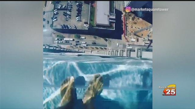 Glass Bottom Pool In Texas Hangs Atop Building Crossroads Today