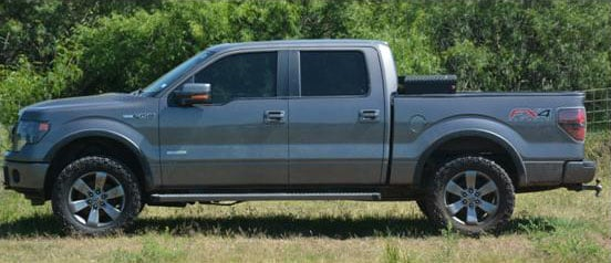 Glenn Towery's truck